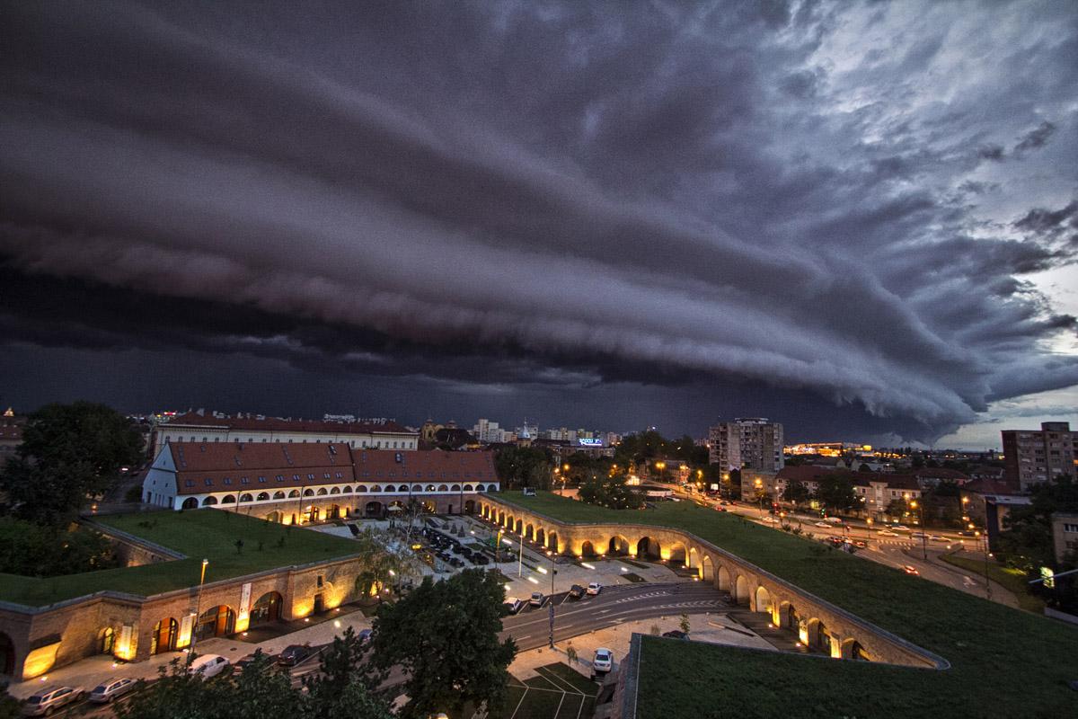 6_Bastionul Maria Theresa Timisoara noaptea Timis
